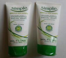 2 packs - Simple Moisturizing Facial Wash 5 oz each
