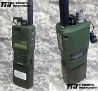 TRI AN/PRC-152 Multiband Handheld Radio MBITR Aluminum Shell Walkie Talkie 8.4V