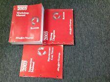 2003 FORD RANGER TRUCK Service Shop Repair Manual Set W EWD & INSPECTION Book x