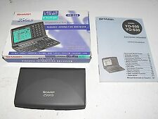 "Sharp 256 KB Personal Organizer Model YO-530 Rare to Find As New Boxed In ""GWO"""
