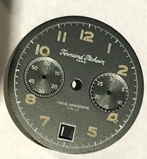 black dial  for type 22 FERNAND PECHOIN Vintage for  Valjoux 234 chronograph