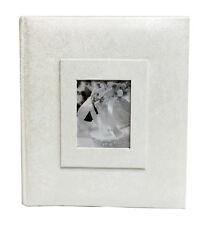 White Wedding Album 200 Photo 5x7 size (1 Album)