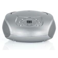 Alba Portable CD Player & FM Radio - Silver - Free 90 Day Guarantee