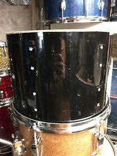 "Rogers 13"" Jet Black Pearl Tom"