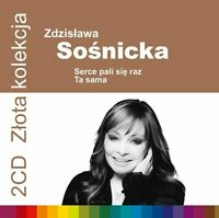 Zdzislawa Sosnicka - Zlota Kolekcja. Serce pali się raz ... (polish music - CD)