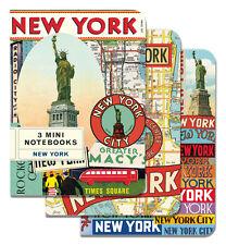 Cavallini & Co. New York Mini Notebooks Set of 3