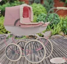 More details for new cherished collection carriage toy dolls pram   kids baby doll toys pushchair