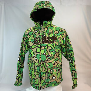 Men's Special Blend Snowboard Ski Shell Jacket with Hood Large