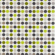 MASSIVE REMNANT John Lewis Great Spot LIME PVC Fabric - Approx 137cm x 1.0M
