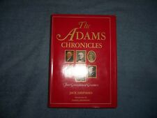 The Adams Chronicles by Jack Shepherd/1st Ed/Hcdj/Biography/Histori cal Figures