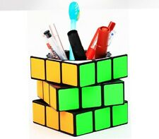 Pen Holder Cube Twist Puzzle Pencil Box Ultrasmooth Speed Cube Stress Relief Toy