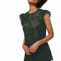 MICHAEL KORS NEW Women's Rose Lace 2 In 1 Blouse Shirt Top TEDO