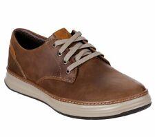 Skechers Marrón Zapatos para hombres de espuma de memoria Deportivo Casual Comfort Cuero Oxford 66073