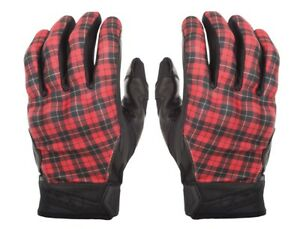 Fly Street Adult Motorcycle Highland Plaid Gloves Size S-3XL