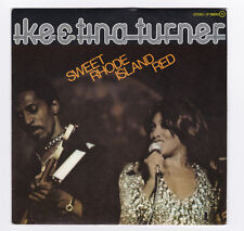 SP 45 TOURS IKE ET TINA TURNER SWEET RHODE ISLAND RED en 1974