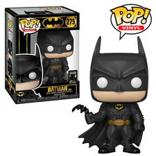 Batman 1989 Michael Keaton 80th anniversary DC Comics Funko Pop Vinyl Figure