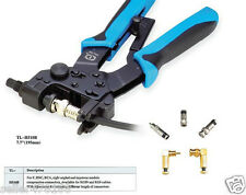 F type BNC RCA Compression crimping TOOL for Pliers Clamp RG-59 4C RG-6 5C Cable