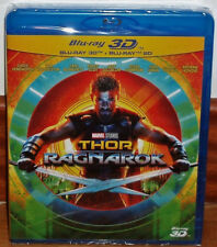 THOR RAGNAROK COMBO BLU-RAY 3D+BLU-RAY NEW SEALED ACTION (UNOPENED) R2
