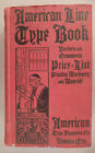 American Type Founders CATALOG - 1906 ~~ Large Specimen Book of Type, Typography