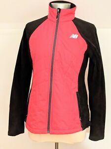 Womens Fleece Jacket Fitness Running Walking Yoga Sports New Balance Size M NEW