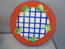 Rosenthal CASUAL Designers Guild PLATZTELLER 31 cm Plate blau rot