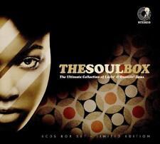 THE SOUL BOX-Barry White, Marvin Gaye, Chaka Khan/+  6 CD NEUF
