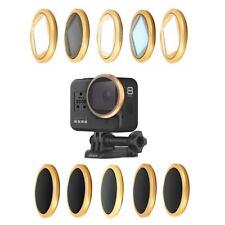 UV CPL ND 4 8 16 32 64 Night Star Macro Lens Filter Sticker for GoPro Hero 8