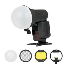 Mcoplus TRIOPO MagDome Color Filter Reflector Honeycomb Grid Ball Diffuser Kits