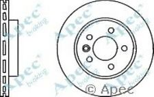 1x OE Quality Replacement Front Axle Apec Vented Brake Disc 5 Stud 303mm - Pair