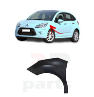 FOR CITROEN C3 2010 - 2016 NEW WING FENDER INDICATOR HOLE FOR PAINTING LEFT N/S