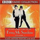 Morecambe & Wise - Morecambe and Wise, Vol. 1 Bring Me Sunshine AUDIOBOOK CD
