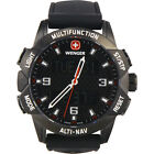 Wenger Unisex 70440 Analog-Digital Display Swiss Quartz Black Watch