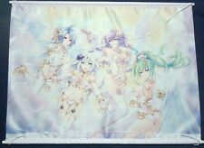 Four Goddesses Online CYBER DIMENSION NEPTUNE Neptunia Tapestry Wall Scroll NEW!