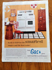 1955 Kitchen Gas Range Ad    Dixie