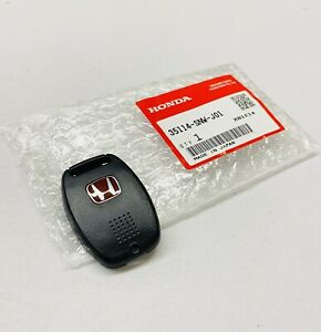 """New Genuine For Honda Civic FD2 Type R Red """"H"""" Key Cover 35114-SNW-J01 OEM JDM"""