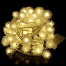 Christmas Lights Snowball LED String Light Party Home Garden Garland Decoration