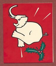 "Malindi    Zimbabwe   1958,    Elephant disliking  Holly    ""Allen"" ?      JX958"