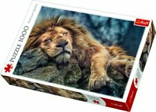 """Trefl 10447 """"Sleeping Lion Puzzle 1000-Piece Jigsaw, ANIMAL, SAME DAY DISPATCH"""