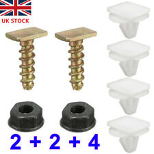 Combo Front Wheel Arch Trim Clips Wing Nut Screws Set Fit For Vauxhall Corsa C