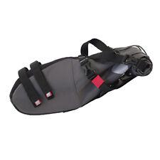 Azur Waterproof Large Bike Saddle Bag Black