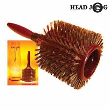 HEAD JOG 125 JUMBO CERAMIC RADIAL HAIRBRUSH WITH PVC DRAW STRING BAG