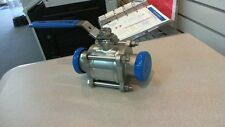 "STAINLESS STEEL SANITARY BALL VALVE  TRI-CLAMP 2"" -T316"