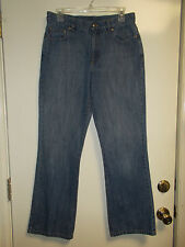 Lauren Jeans by Ralph Lauren size 8, 5-pocket Blue Jeans