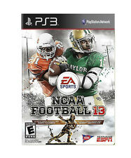 NCAA Football 13 - PS3 used. great condition. RG3 & Barry Sanders Cover