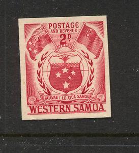 Samoa  205  proof  imperforate   cardboard type       KEL0601