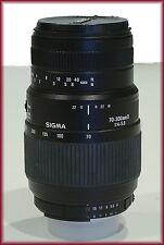 Sigma  70 mm - 300 mm Macro F/4.0-5.6  Lens NICE!!!