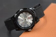 New Mens Watches Quartz Stainless Steel Analog Sports Wrist Watch Military Army