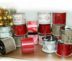 X-mas Tree Decoration Luxary Trim Glitter Gift Box Ribbons Hanging Parcel Craft