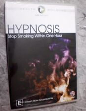 HYPNOSIS - STOP SMOKING WITHIN ONE HOUR (DVD, Region 4) GM3