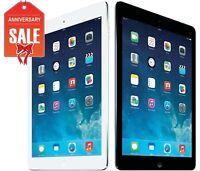 Apple iPad Air 1st Wi-Fi I 16GB 32GB 64GB or 128GB I GRAY SILVER -GRADE B+ (R-D)